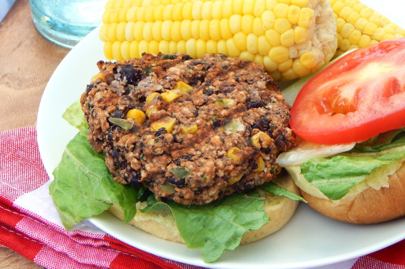 Cilantro Lime Black Bean Patty