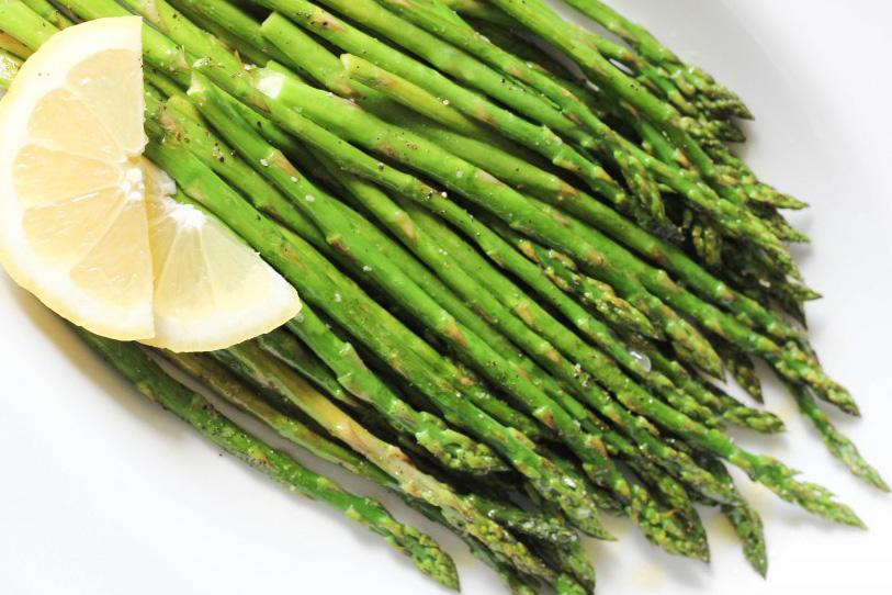 Roasted Asparagus w/ Lemon Vinaigrette